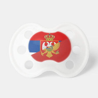 serbia montenegro flag country half symbol dummy