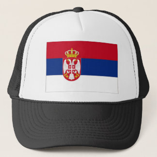 Serbia National Flag Trucker Hat
