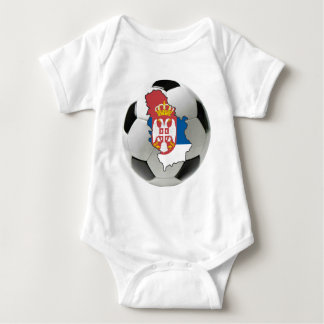 Serbia national team baby bodysuit