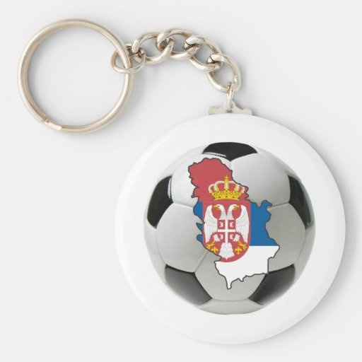 Serbia national team keychains