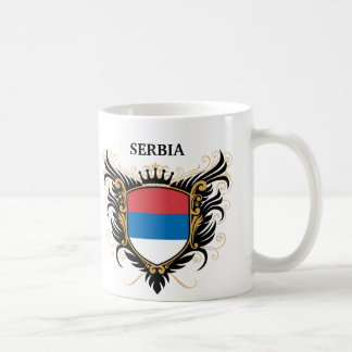 Serbia [personalize] basic white mug