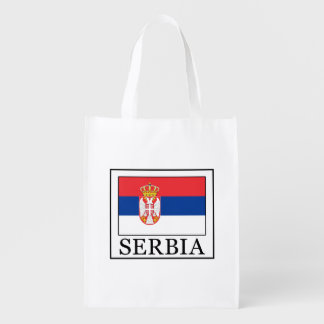 Serbia Reusable Grocery Bag