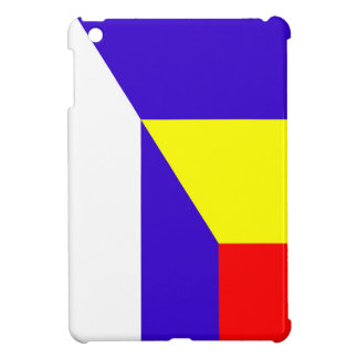 serbia romania flag country half symbol iPad mini cover