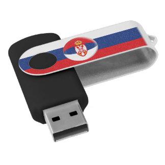 Serbia Serbian Flag USB Flash Drive