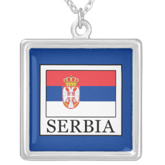 Serbia Silver Plated Necklace
