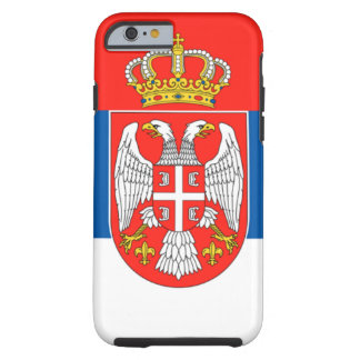Serbia Tough iPhone 6 Case