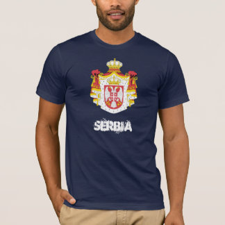 Serbia with coat of arms T-Shirt