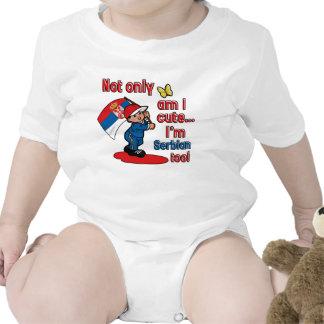 Serbian baby design tee shirt