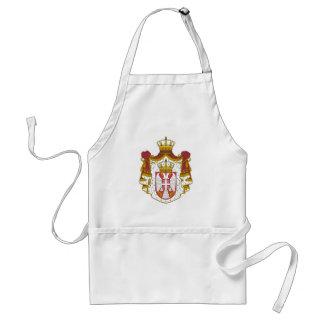 Serbian Coat arms Standard Apron