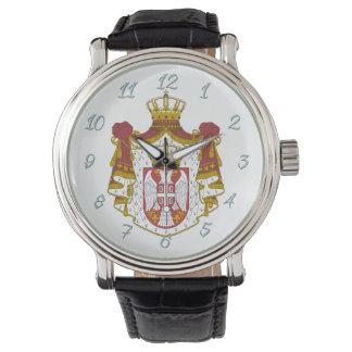 Serbian Coat arms Watch