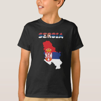 Serbian country flag T-Shirt