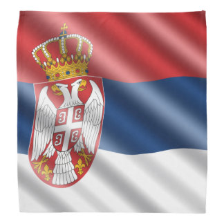 Serbian flag bandana