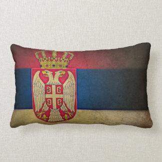 serbian flag pillow