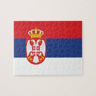 Serbian Flag Jigsaw Puzzle