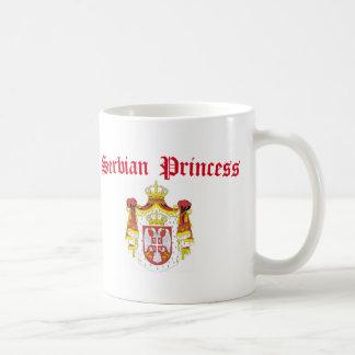 Serbian Princess (with Serbia Coat of Arms) Coffee Mug
