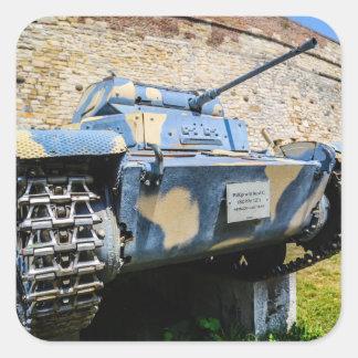Serbian Tank Sticker