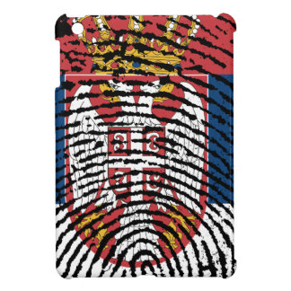Serbian touch fingerprint flag iPad mini cover
