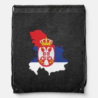 Serbian Trip Souvenir Drawstring Bag
