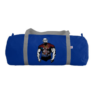 serbian whacker gym duffel bag
