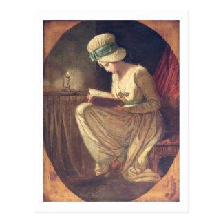 Serena (oil on canvas) postcard