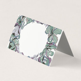 Serendipity Floral Forest Wedding Invitation Suite