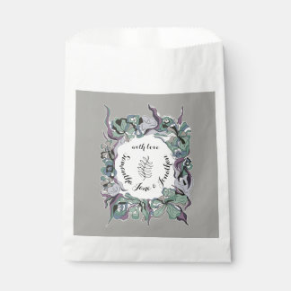 Serendipity Floral Forest Wedding Suite Favour Bag