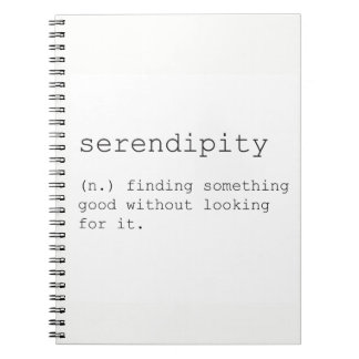 Serendipity notebook