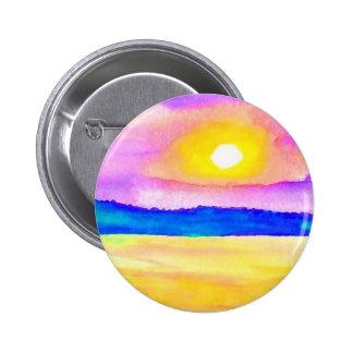 Serendipity Ocean Lake Sunset Art Pins