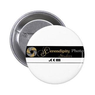 serendipity photo studios 6 cm round badge