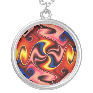 Serendipity Round Pendant Necklace