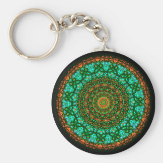 Serendipity Tant Basic Round Button Key Ring