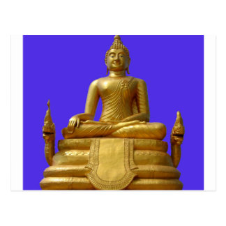 Serene and beautiful Buddha design Postcard