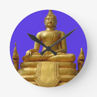Serene and beautiful Buddha design Round Clock
