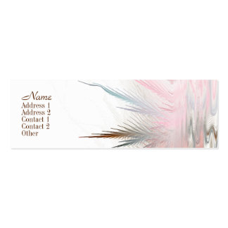 Serene Art Skinny Business Card