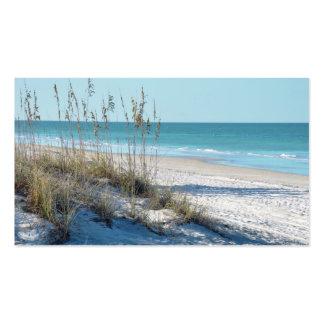 Serene Beach Sea Oats & Blue Water Pack Of Standard Business Cards