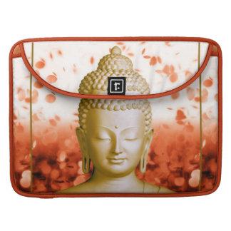 Serene Buddha macbook sleeve Sleeves For MacBooks