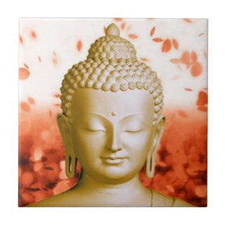 Serene Buddha tile