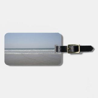 Serene California Beach Luggage Tag
