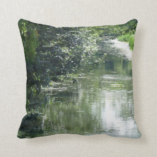 Serene River Flowing Cushion