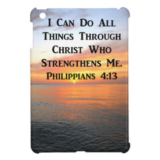SERENE SUNRISE PHILIPPIANS 4:13 PHOTO SCRIPTURE CASE FOR THE iPad MINI