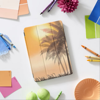 Serene Tropical Sunset & Palm Trees iPad Air Case