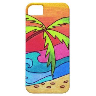 Serene Walk on the Beach iPhone 5 Cases
