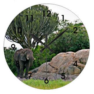 Serengeti Kopje - Tanzania, Africa Wall Clocks