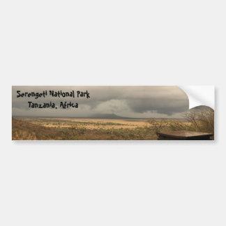 Serengeti National Park Tanzania, Africa Bumper Sticker