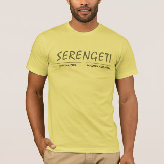 SERENGETI, NATIONAL PARK - YELK T-Shirt