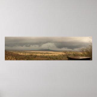 Serengeti Plains of Africa Poster