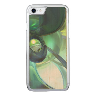 Serenity Achieved Abstract Carved iPhone 7 Case