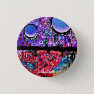 """""""Serenity And Disorder"""" 3 Cm Round Badge"""