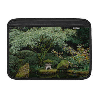 Serenity at a Japanese Garden MacBook Sleeve