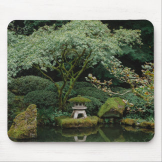Serenity at a Japanese Garden Mouse Pad